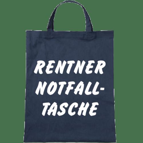 Stoffbeutel Rentner Notfalltasche