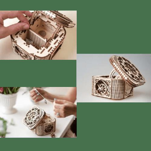 Holzmodell Ugears Schatztruhe