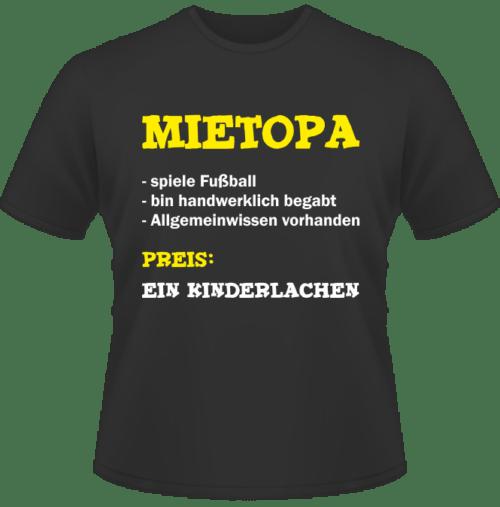 Bedrucktes T-Shirt Mietopa