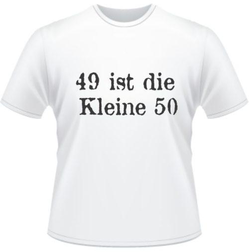 Bedrucktes T-Shirt zum 49. Geburtstag