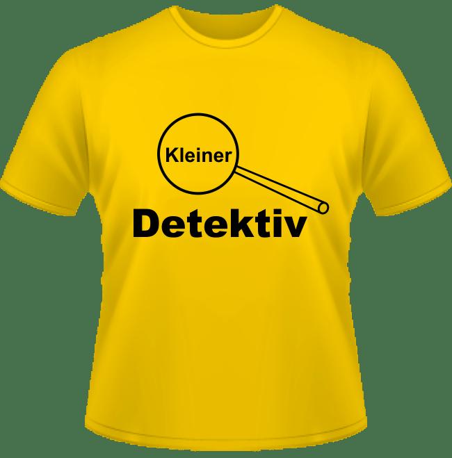 Kinder T-Shirt Kleiner Detektiv