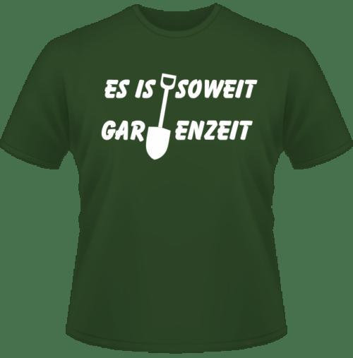 Bedrucktes T-Shirt Gartenzeit