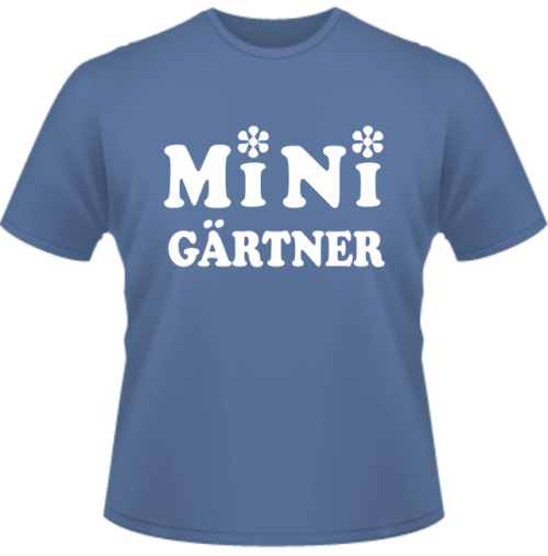 T-Shirt Mini Gärtner